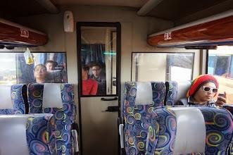 Photo: Zona de fumadores en el autobús.
