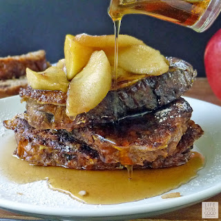 Apple Cinnamon French Toast.