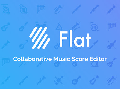 Flat - Music scores and guitar tabs editor