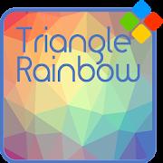 Triangle Rainbow Theme