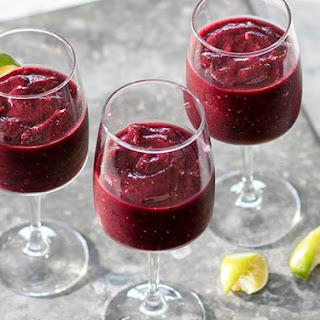 Berry Moscato Wine Slushies Recipe