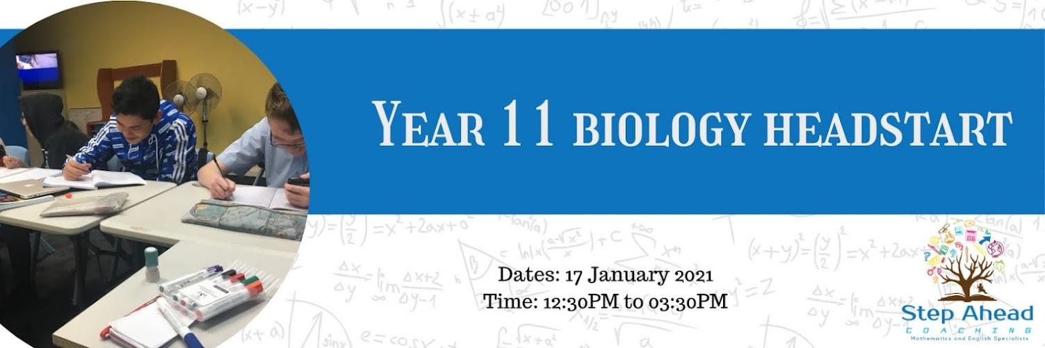 Year 11 Biology HeadStart