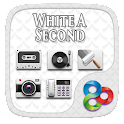 WhiteASecond Go Launcher Theme icon