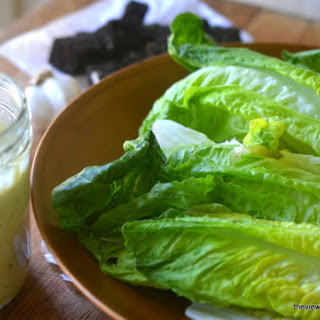 Authentic Caesar Salad Dressing in 30 Seconds Flat.