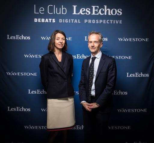 Club Les Echos Débats avec Laurence Boone et Philippe Martin