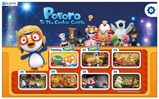 Screenshot of Pororo To The Cookie Castle