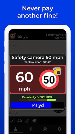 Radarbot Free: Speed Camera Detector & Speedometer 7.4.1 com.vialsoft.radarbot_free apkmod.id 3