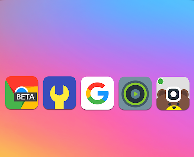 MY UI 9 - Icon Pack Screenshot