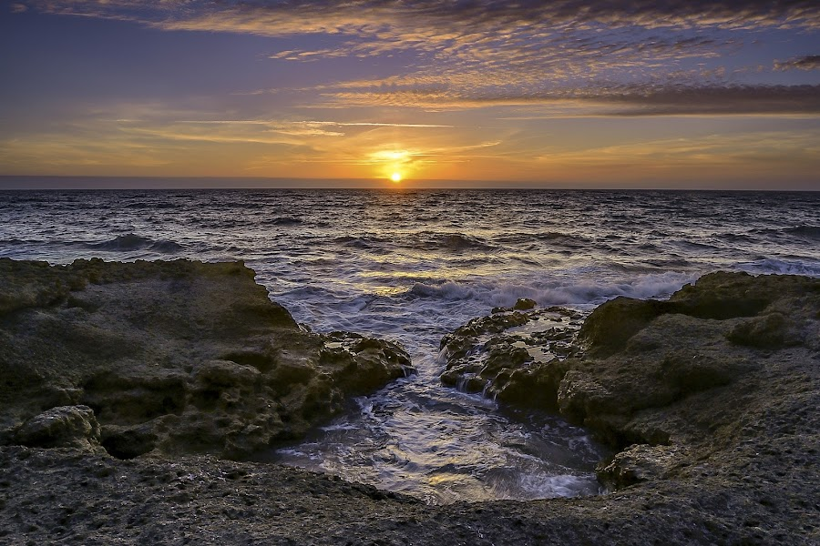 Sunset by Carla Quelhas Lapa - Landscapes Sunsets & Sunrises