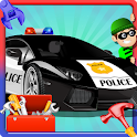 Build a Police Car & Fix It icon
