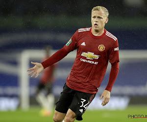 Donny Van de Beek nog eens in de basis bij Manchester United