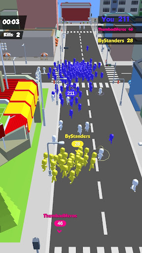 Crowd Race 3D : Biggest in the city! android2mod screenshots 2