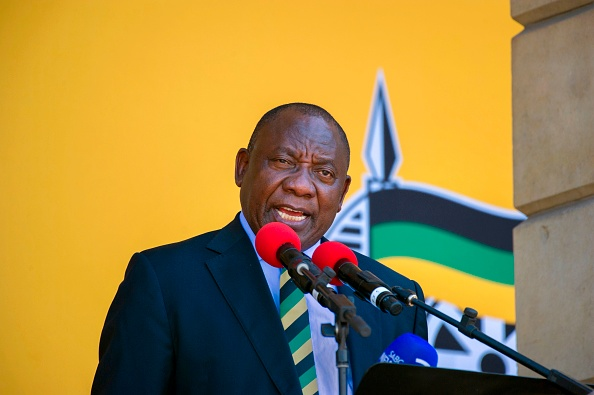ANC president Cyril Ramaphosa calls for calm during Gauteng conference.