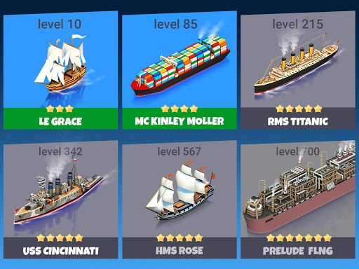 Sea Port: Cargo Ship & Town Build Tycoon Strategy apklade screenshots 2