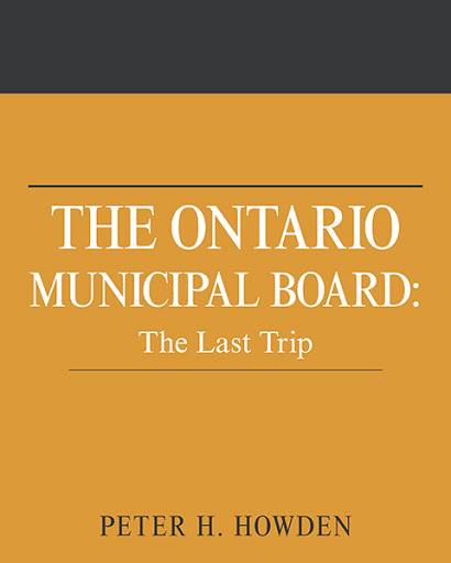 The Ontario Municipal Board cover