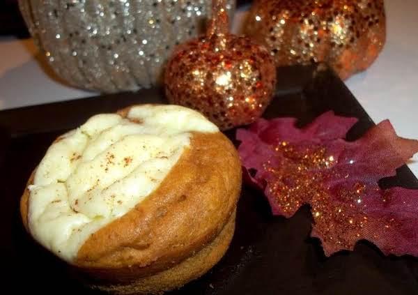 Oh So Moist ~ Pumpkin Cream Cheese Muffins Recipe