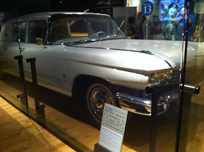 Photo: Country Music Hall of Fame and Museum, Nashville, TN.  Elvis's 1960 limo