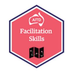 AITD Facilitation Skills - red badge