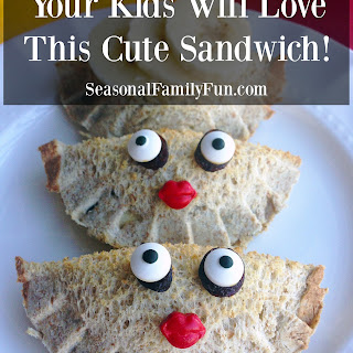 Cute Face Sandwich