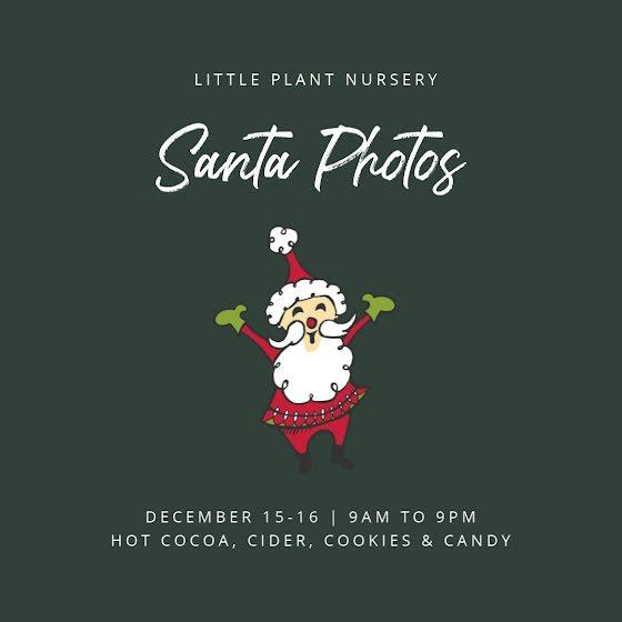 Santa Photos - Christmas Template