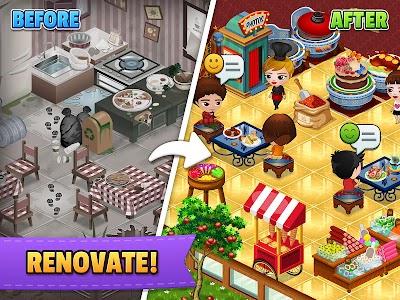 Cafeland - World Kitchen 2.1.9 (Unlimited Money)