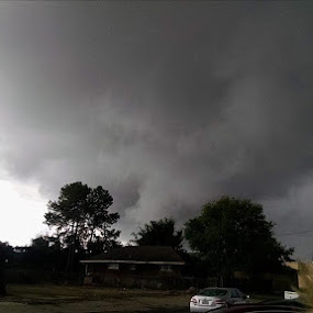 Tornado too close! by Terri Moore - Novices Only Street & Candid