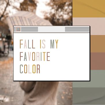 Fall Colors - Instagram Post Template