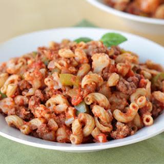 Healthy Beefy Macaroni