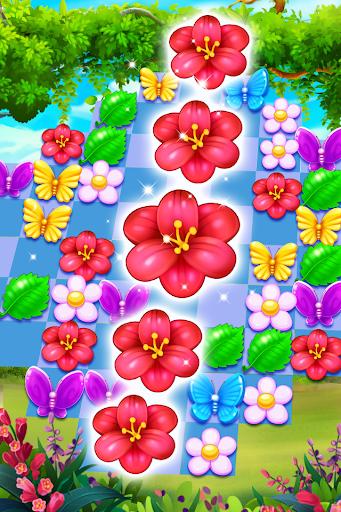 Butterfly Flower Free Match 1.6 usbobble.freematch3.ButterflyFlower apkmod.id 4