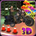 Police Moto Bike Racer 3D icon