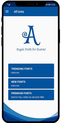 AFonts - Free Emui Fonts (Stylish Free Fonts) 2.0 screenshots 2