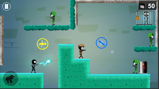 Stickman Shooter: Elite Strikeforce 6.7 screenshots 4