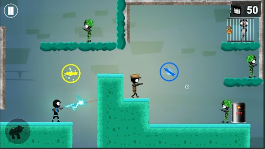 Stickman Shooter Elite Strikeforce 3