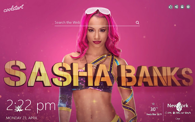 Sasha Banks HD Wallpapers WWE DIvas Theme