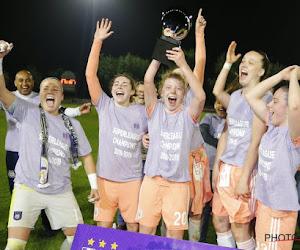 RSC Anderlecht pakt tweede titel op rij ... bij de vrouwen