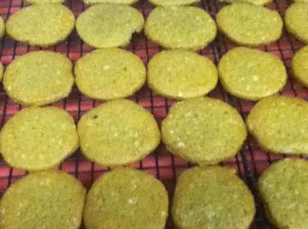 Golden Butterscotch Refrigerator Cookies