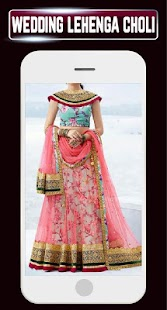 Indian Dulhan Lehenga Choli Wedding Dresses Design - náhled