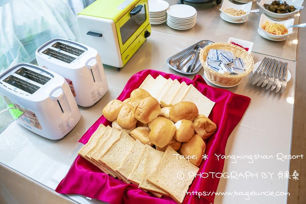 陽明閣自助早餐-金山溫泉會館