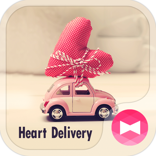 Cute Theme-Heart Delivery- Icon