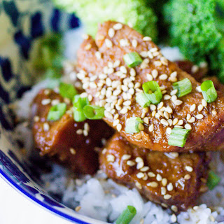 Instant Pot Pork Tenderloin Teriyaki.
