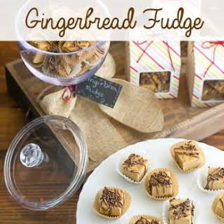 Gingerbread Fudge.