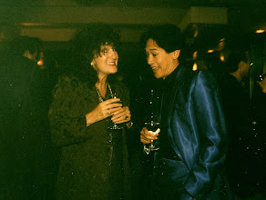Photo: Susan Ateyo and Bobby Kantor @ Stanley Fort Forty 1996 [what an excellent blue suit!]
