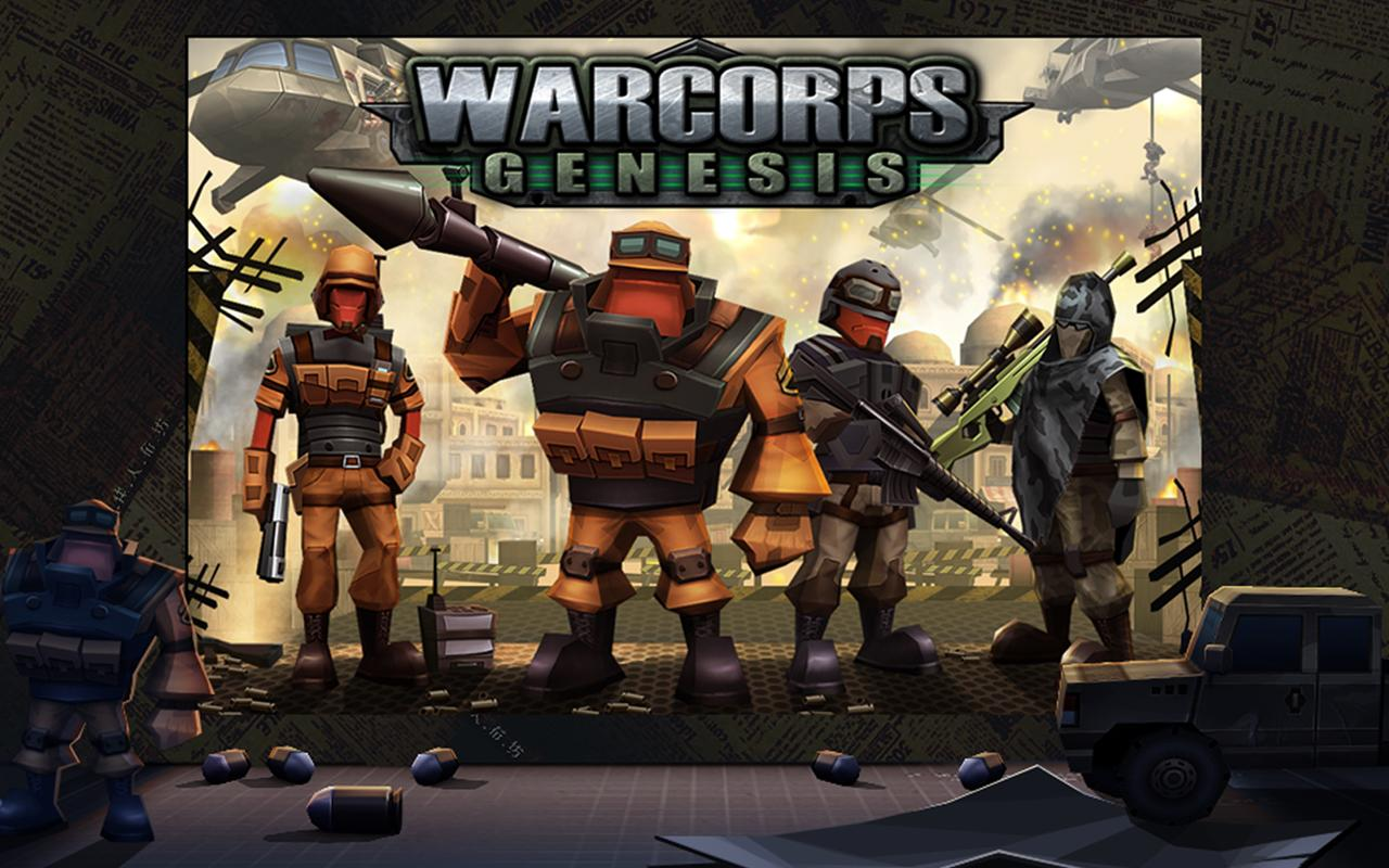 WarCom: Genesis- screenshot