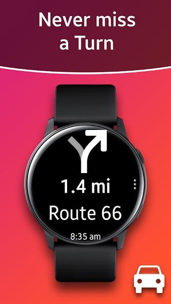 Navigation Pro: Google Maps Navi on Samsung Watch Android App Screenshot