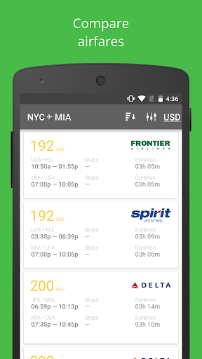 Airline tickets — Pro Flight скачать на планшет Андроид