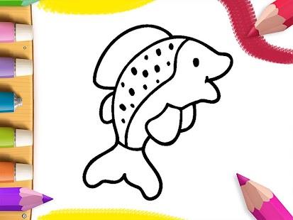 My Coloring Book Sea Animals Screenshot Thumbnail