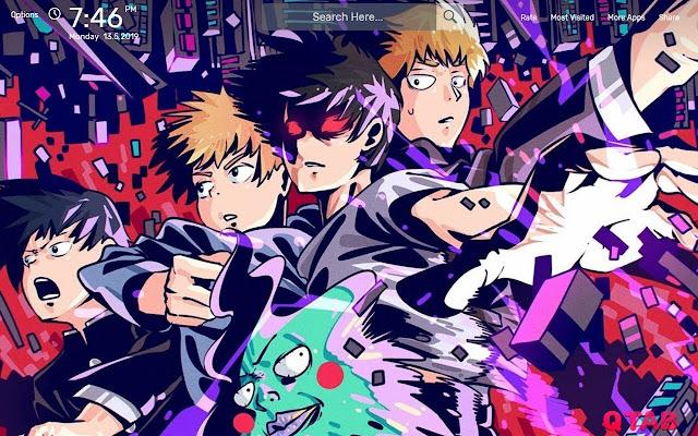 Mob Psycho 100 II Wallpapers HD Theme