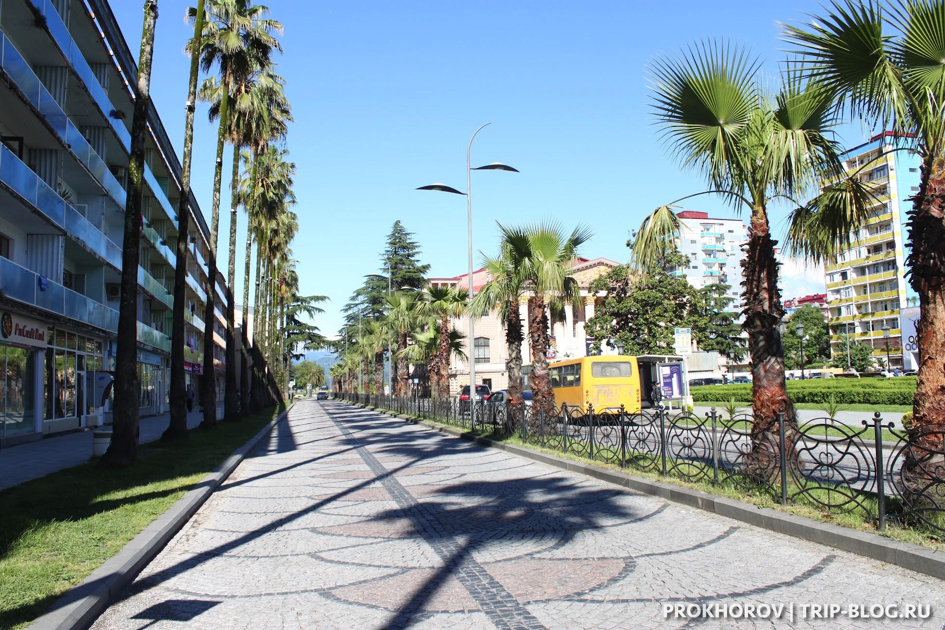 улицы Батуми фото