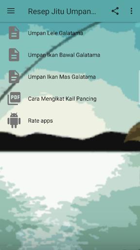 Resep Jitu Umpan Galatama 8.8 screenshots 2
