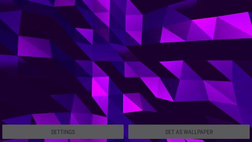 Parallax  Golden Crystal Edge 3D Live Wallpaper 1.0.1 screenshots 10
